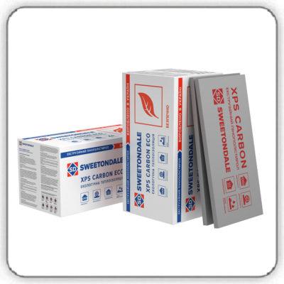 Экструзионный пенополистирол SWEETONDALE CARBON ECO 1180х580х30-L - Будсервис