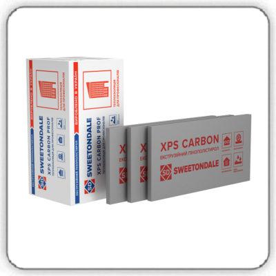 Экструзионный пенополистирол SWEETONDALE CARBON PROF 1180х580х50-L - Будсервис