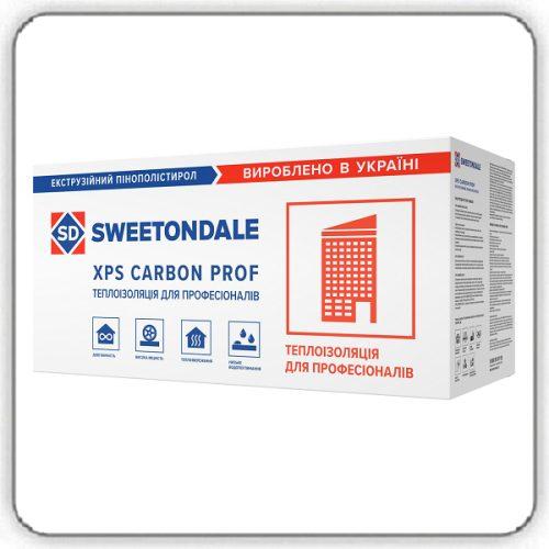 Экструзионный пенополистирол SWEETONDALE CARBON PROF 1180х580х60-L - Будсервис