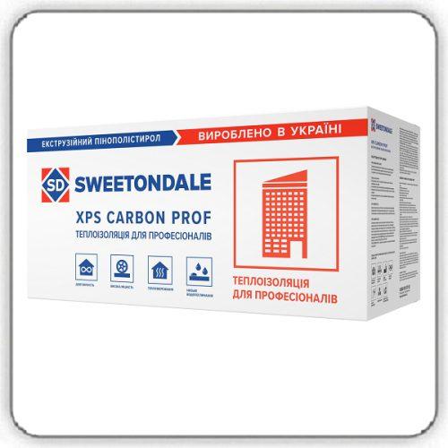 Экструзионный пенополистирол SWEETONDALE CARBON PROF 250 1180х580х40-L - Будсервис