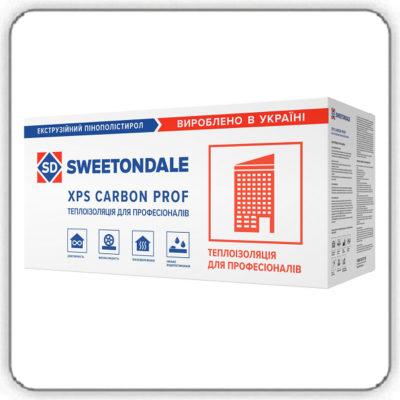 Экструзионный пенополистирол SWEETONDALE CARBON PROF 250 SLOPE-1,7% S2 1200х600х80 Элемент В - Будсервис