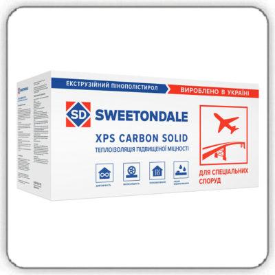 Экструзионный пенополистирол SWEETONDALE CARBON SOLID 500 1180х580х50-L Тип А - Будсервис