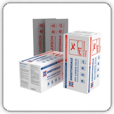 Экструзионный пенополистирол SWEETONDALE CARBON SOLID 700 1180х580х50-L Тип А - Будсервис