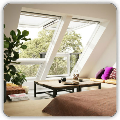Окно-балкон VELUX CABRIO® - Будсервис