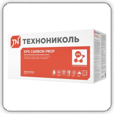 Пенополистирол экструдированный XPS ТехноНИКОЛЬ CARBON PROF 300 RF 1180х580х50-L - Будсервис