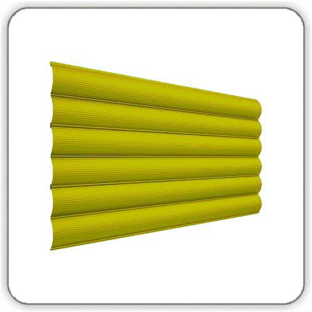 Фото Блок-хаус металлический - цвет Ral 1003 - Будсервис