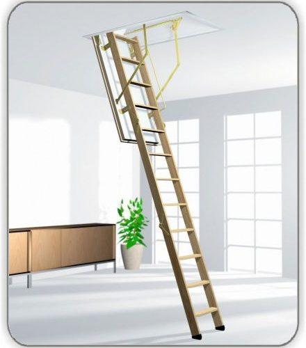 Чердачная лестница Roto Cadet3 Norm 70-120-288 см