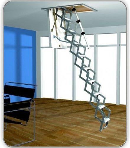 Чердачная лестница Roto Mini ножничная - 70-120-275 см