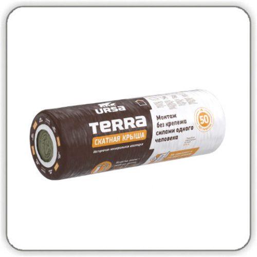Утеплитель стекловата Урса TERRA 35 QN Скатная крыша
