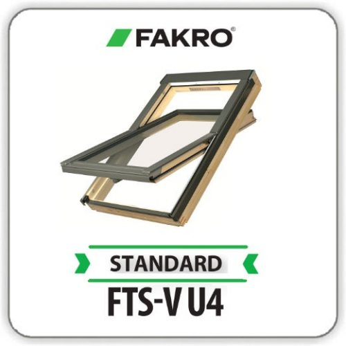 Окно Факро FTS-V U4 Двухкамерное