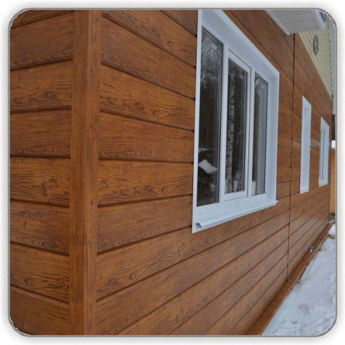 Фасадная панель Доска металлическая - Будсервис