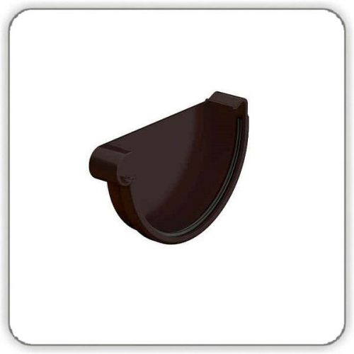 Заглушка желоба левая - Galeco PVC 130 купить