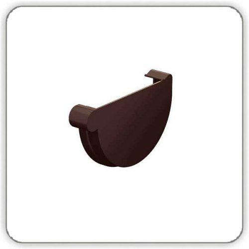 Заглушка желоба правая - Galeco PVC 130 цена