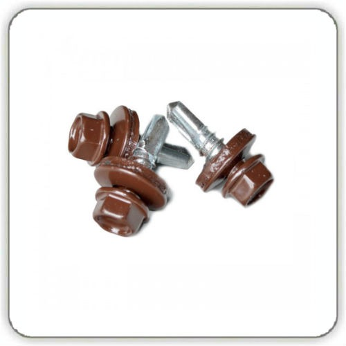 Саморез по металлу 4,8-19 – RAL 8004 цена
